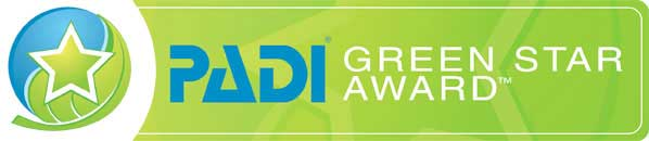 Logo PADI Green Star Award