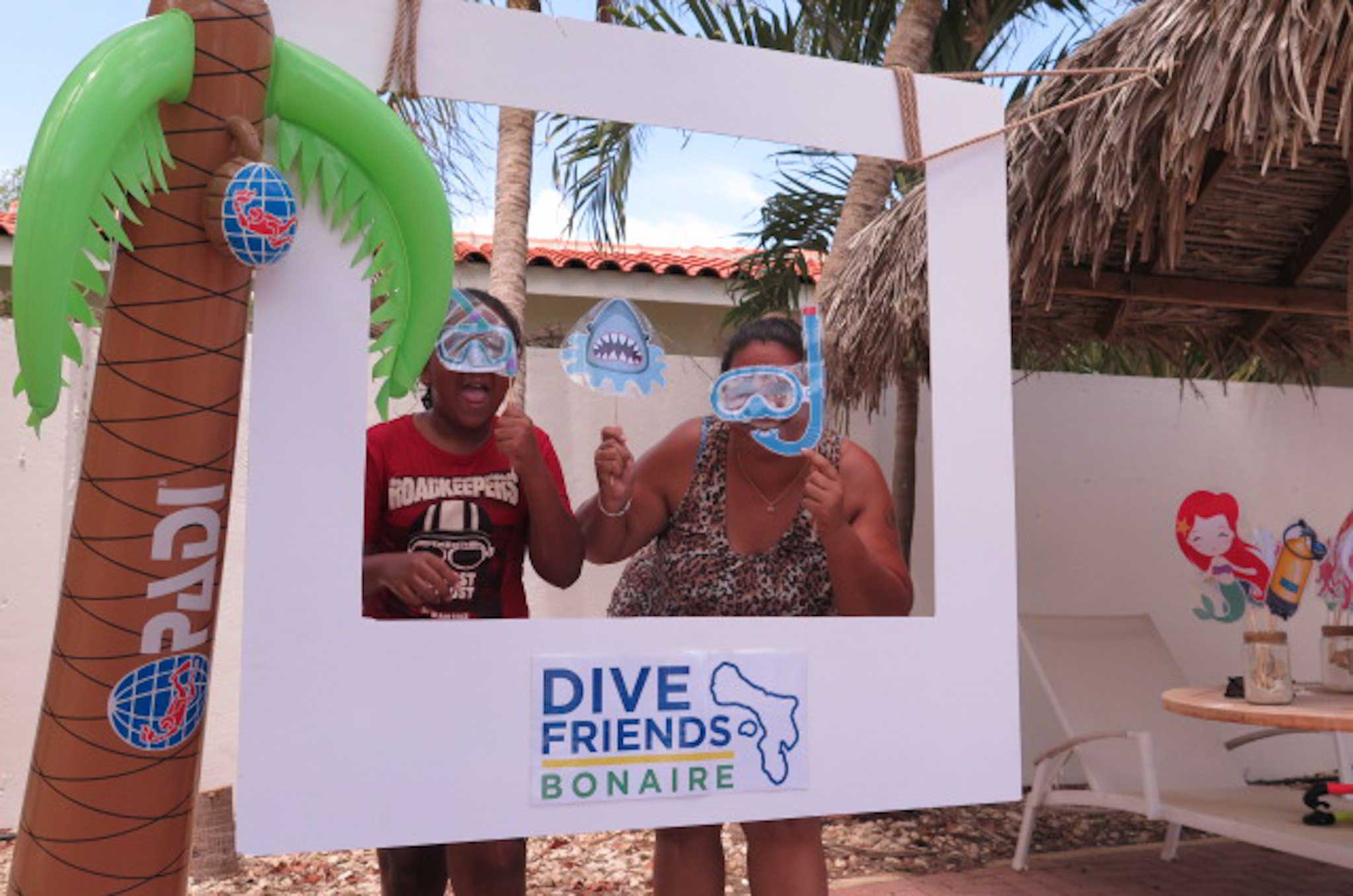 Participants of Womens Dive Day